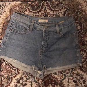 Levi's 512 Jean shorts size 8